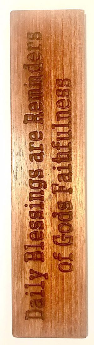 Daily blessings are Reminders of Gods faithfulness plaque for Sale in Rancho Cucamonga, CA