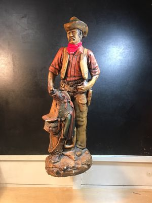 Ceramic Mexican cowboy statue. for Sale in Wallingford, CT