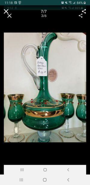 Beautiful Vintage Decanter Sets for Sale in San Diego, CA
