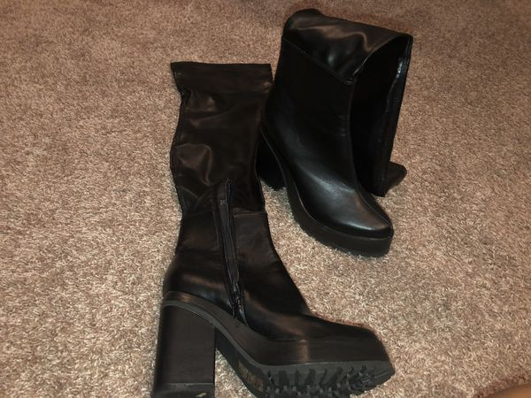 Thigh high boots size 8