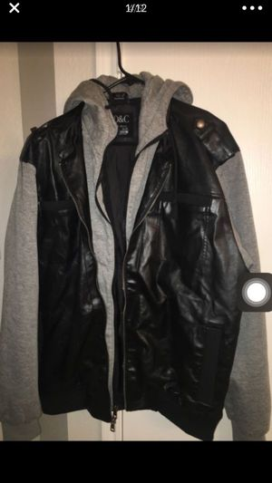 Men's large jacket with hoodie size large !! for Sale in Dallas, TX