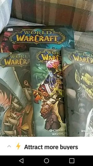 World of Warcraft graphic novels and info book for Sale in Tallassee, AL