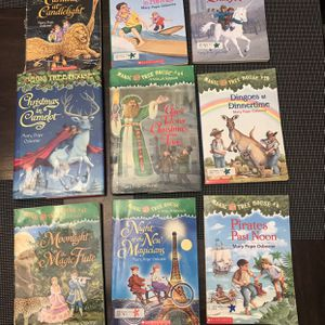Lot Of 9 Magic Tree House Books for Sale in Atwater, CA