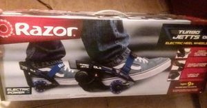 Razor Turbo Jetts DLX 12V. Electric Heel Wheels! for Sale in Cairo, GA