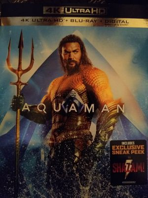 Aquaman 4K Digital Code for Sale in Fall River, MA