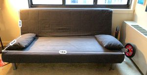 Ikea Beddinge lovas sofa bed with cover and pillows for Sale in Bethesda, MD