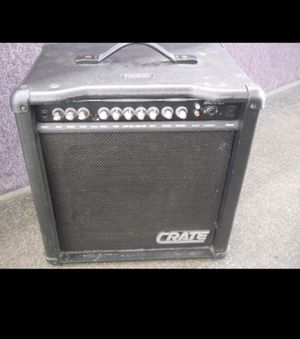"CRATE BASS GUITAR AMPLIFIER BX25 DLX 10"" AMP for Sale in Columbus, OH"