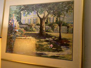 Nell Revel Smith - original framed signed print for Sale in Leland, MI