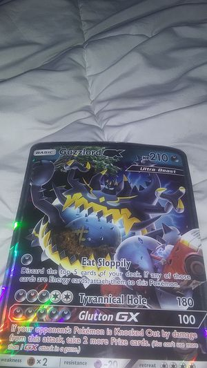 Big guzzlord gx pokemon card for Sale in Chandler, AZ
