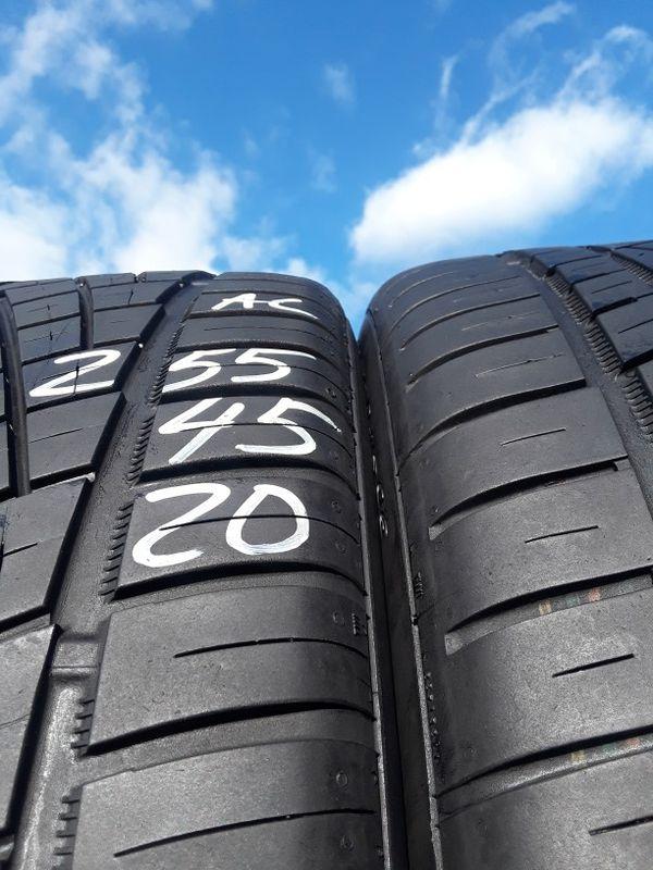 255/45-20 #2 tires