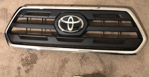 2016-2019 TOYOTA TACOMA UPPER GRILLE /RADIATOR GRILL for Sale in San Diego, CA