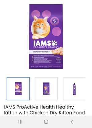 Iams cat food for Sale in Wichita, KS