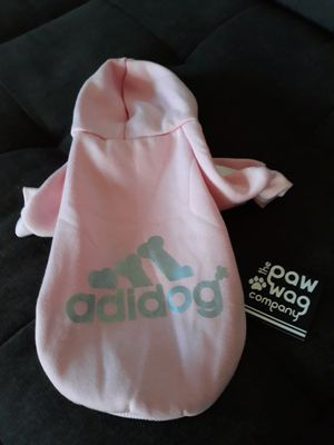 NWT Adidog Hoodie in Light pink size small for Sale in Chicago, IL