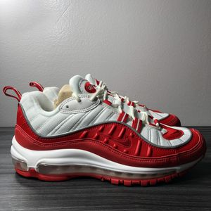 Nike Air Max 98 Red Big Kids' Shoes for Sale in Derby, KS
