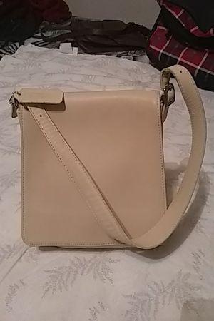 Original Coach purse real leather color beige for Sale in Lodi, CA