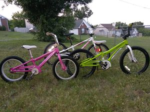 All 3 specialized kids bikes for $250!!! for Sale in Nashville, TN