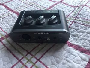 M AUDIO FAST TRACK PRO INTERFACE. for Sale in Inglewood, CA