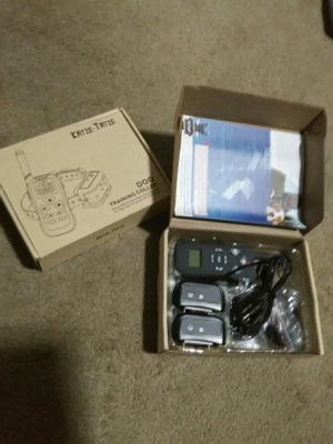 (2) dog collar training collars remote controlled for Sale in Long Beach, CA
