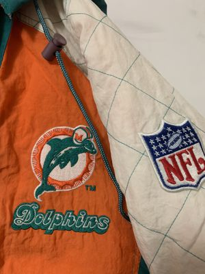 Starter Miami Dolphins Puffer Jacket for Sale in Pasadena, CA