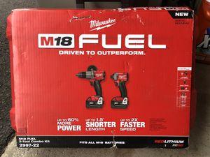 Milwaukee M18 Fuel 2pcs set for Sale in Woodbridge, CT
