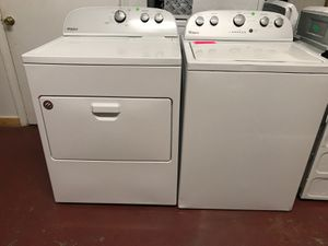 Whirpool TopLoad Washer & Dryer Set for Sale in Winston-Salem, NC
