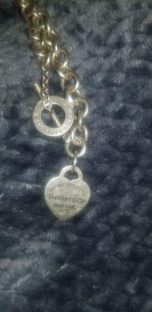 Silver Tiffany Necklace for Sale in Denver, CO