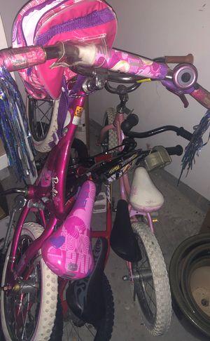 Trek, Barbie, hot wheels, huffy kids bicycle for Sale in Chandler, IN