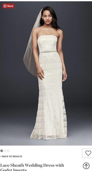 White wedding dress size 6 for Sale in Pasco, WA