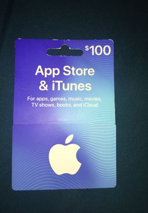 App Store ITunes Card for Sale in Capitol Heights, MD