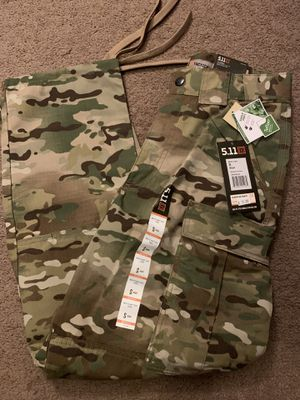 5.11 MULTI CAM TDU RIPSTOP PANT - SMALL for Sale in San Diego, CA