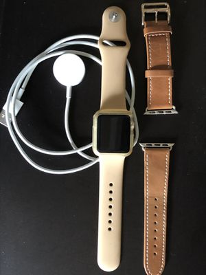 38mm Gold/Concrete Apple Watch series 1 for Sale in San Diego, CA