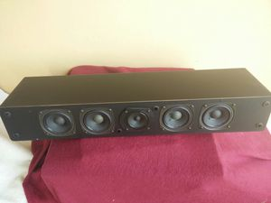 Cambridge soundworks center channel speaker!! Near mint!! Center channel plus by henry kloss..sounds amazing!!designed and manufactured in the USA!! for Sale in Miami, FL