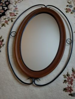 Oval Wall Mirror for Sale in Milton,  MA