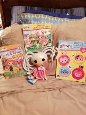 Lalaloopsy doll and books for Sale in Union City, GA
