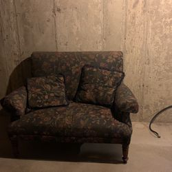 Love Seat Sofa with a Floral Pattern for Sale in Hoffman Estates,  IL