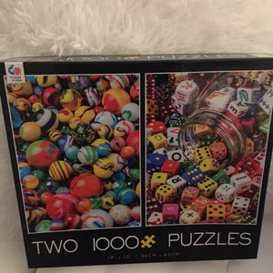 2 1000 Piece Puzzles Brand New Sealed for Sale in Las Vegas, NV