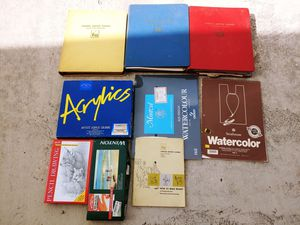 Brand new art supplies and teaching books for Sale in Converse, TX