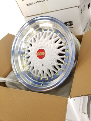 """New 15"""" mst rims for Sale in Bell, CA"""