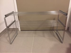 Chrome shoe/storage rack for Sale in New York, NY