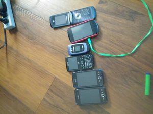 06 Cellular Phones (Samsung -Huawei-Motorola) for Sale in Tempe, AZ