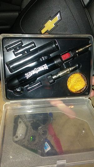 BernzOmatic st250. wireless soldering iron, butane fueled. for Sale in Bessemer, AL
