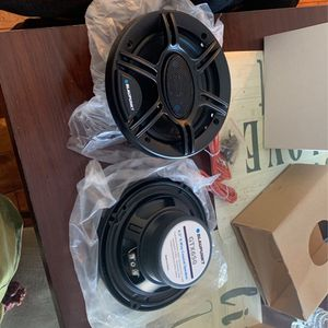 Set Of 2 Blaupunkt 6.5 4-way High Power Speakers for Sale in West Dundee, IL