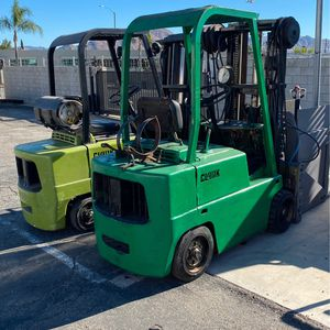 2 Clark Forklifts for Sale in Moreno Valley, CA
