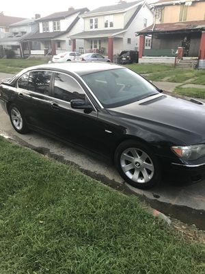 06 BMW 7 series 750LI for Sale in Columbus, OH