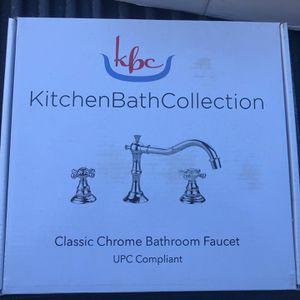 Kitchen Bath Collection Chrome Bathroom Faucet for Sale in Boca Raton, FL