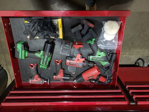 Snap on tool box with tools and blue tooth speaker for Sale in Bethel Park, PA
