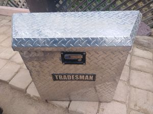 UNIVERSAL TRAILER TONGUE STORAGE BOX BY TRADESMAN for Sale in Tucson, AZ