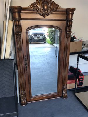 Beautiful solid wood cabinet and drawer for Sale in San Diego, CA