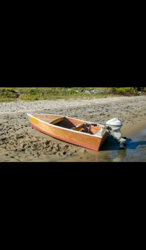 Custom Wooden 8' Mahogany Dinghy for fishing, cruising harbor, or tender for classic boat for Sale in Oceanside, CA