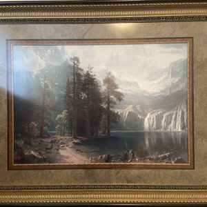 """Beautiful Scenic Framed Picture - 47""""x 37"""" for Sale in Spring, TX"""